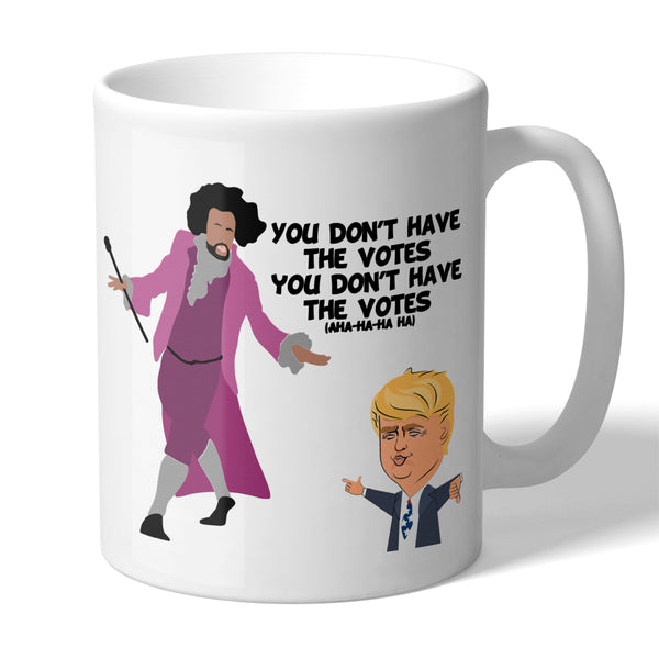 Hamilton Inspired You Don't Have the Votes Funny Novelty 11 Ounce Coffee Mug