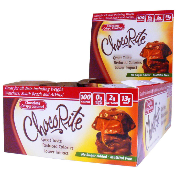 ChocoRite Chocolate Crispy Caramel 16 Count Display Box