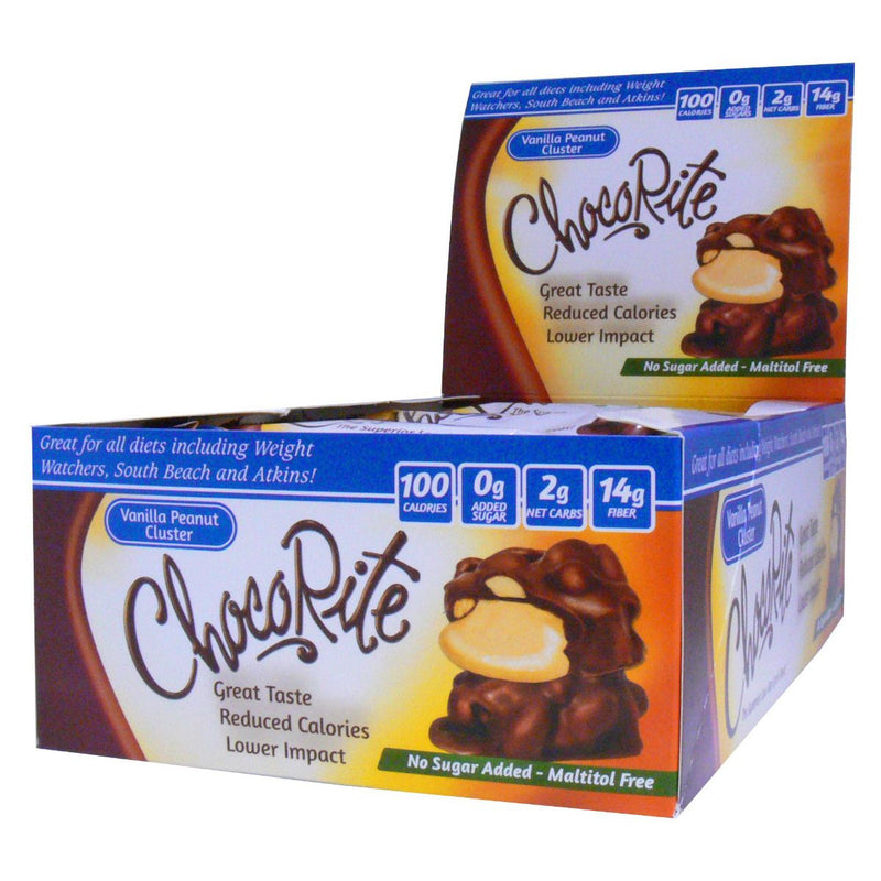 ChocoRite Vanilla Peanut Cluster Box of 16