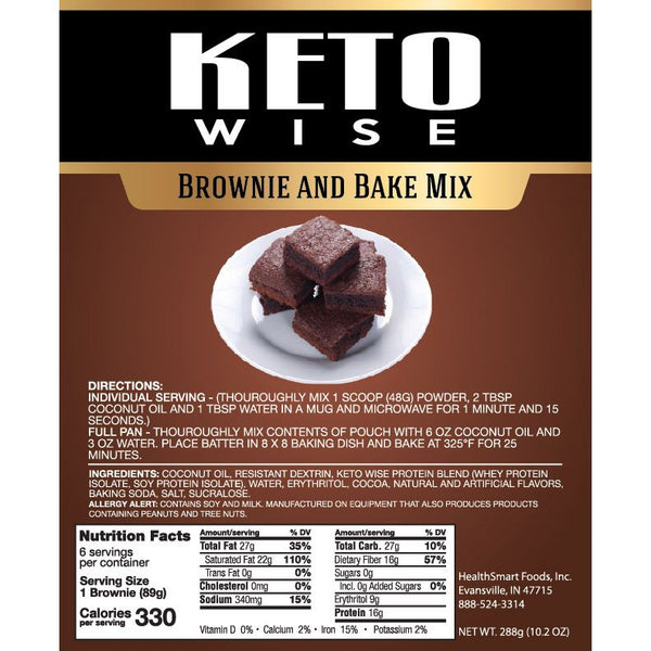 Keto Wise Brownie and Bake Mix