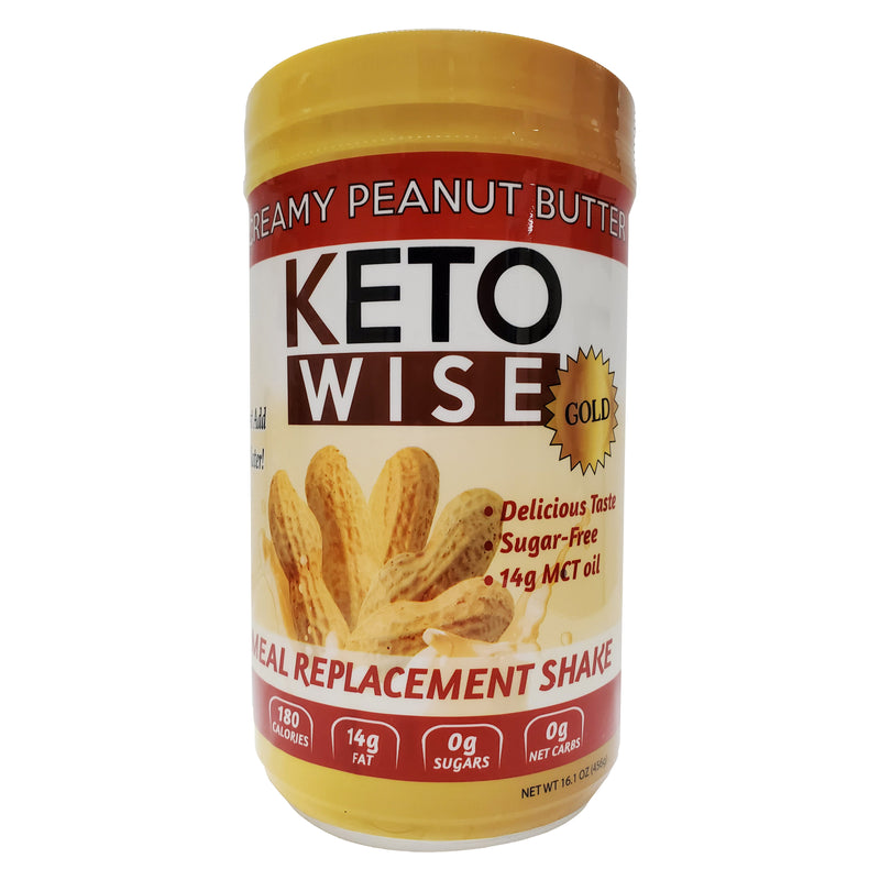Keto Wise Peanut Butter Meal Replacement Shake