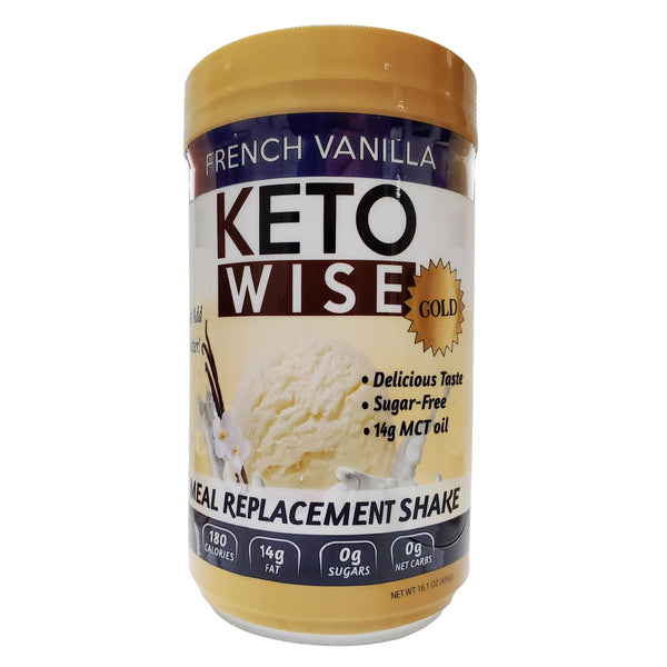 Keto Wise French Vanilla Meal Replacement Shake