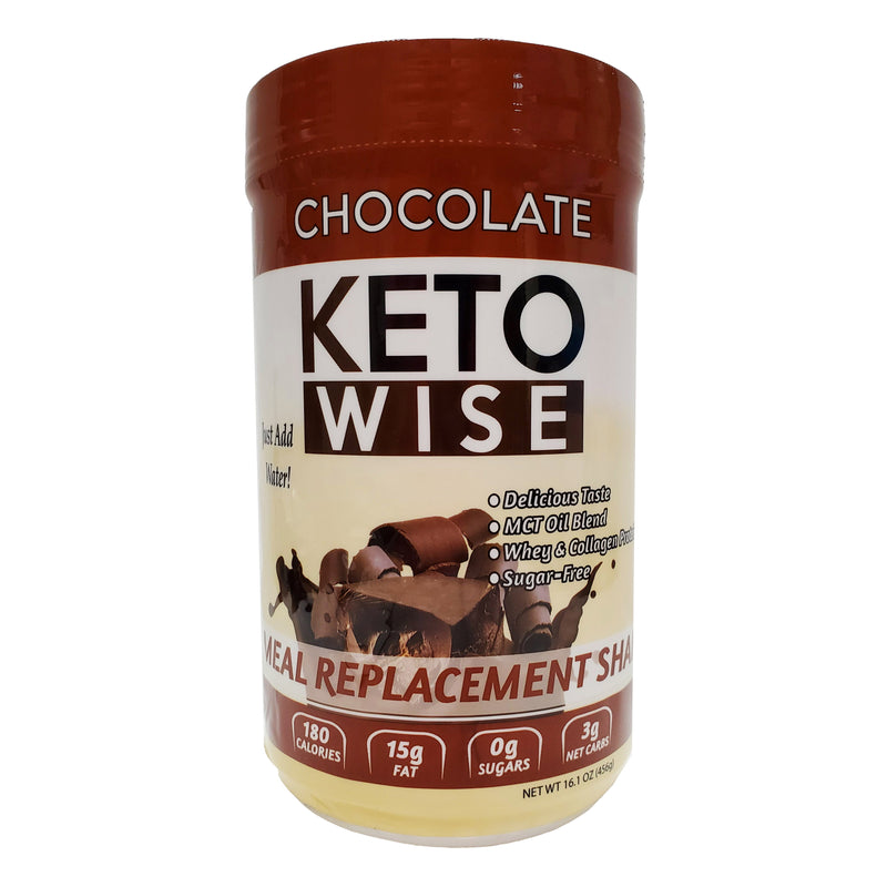 Keto Wise Chocolate Meal Replacement Shake