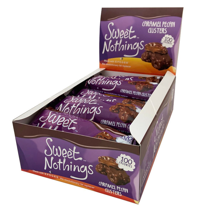 Sweet Nothings Caramel Pecan Clusters Box of 16