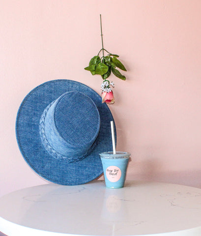 Blue Denim Hat