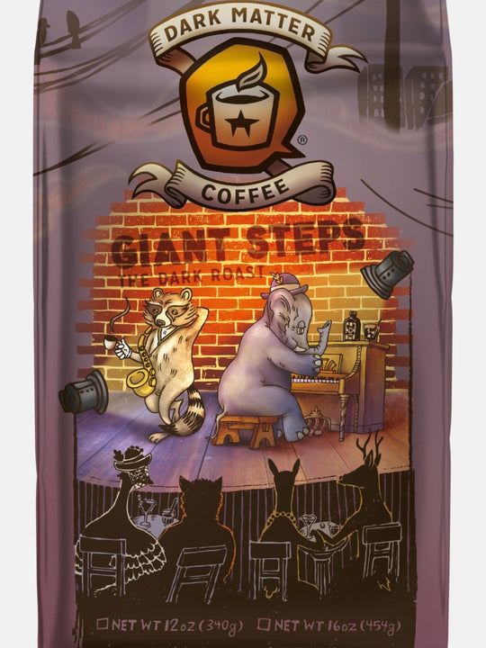 Giant Steps Dark Roast 12oz