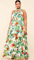 Pretty in Paradise Dress Plus Size