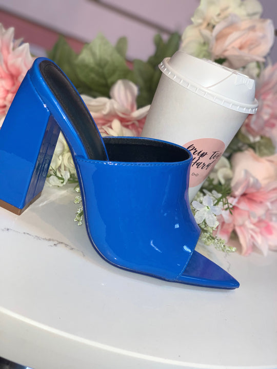 Devoted Heels- Blue
