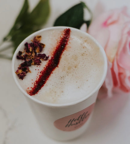Rose Garden Latte 12oz