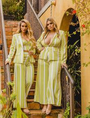 Bossed Up Suit Set Plus Size