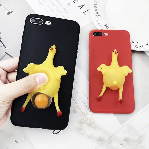 Squishy Chicken iPhone Case - Pawhacks