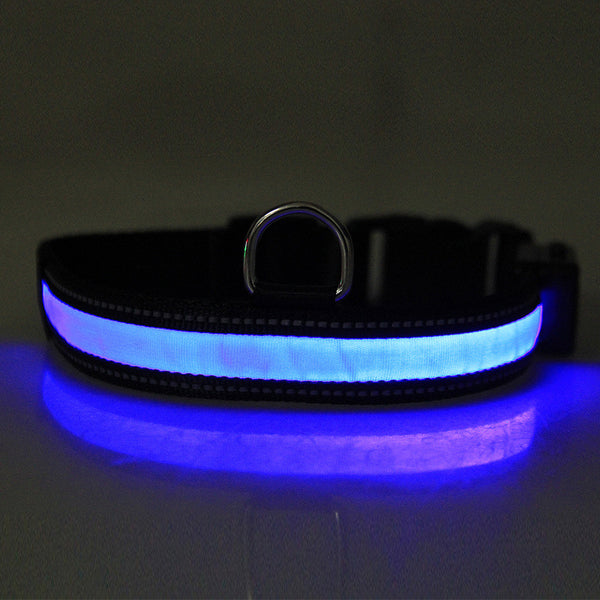 LED Collar (Solar & USB Rechargeable) - Pawhacks