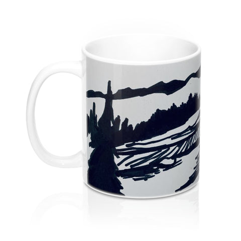 Black and White R3 Mug