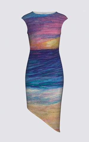 Beachy Felicia Asymmetric Dress