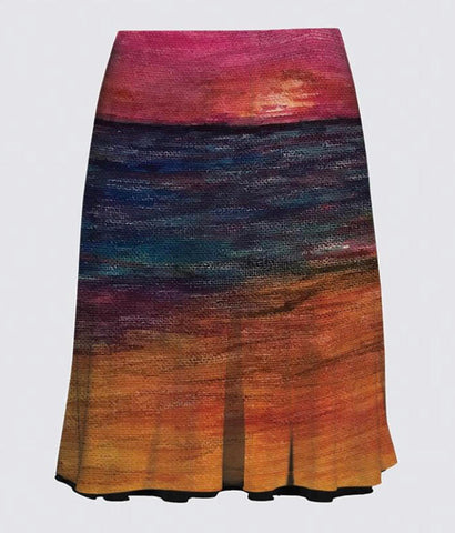 """Onwards"" A-Line Reversible Skirt"