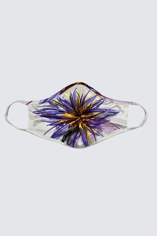 Purple Flower Face Mask (2 Pack)