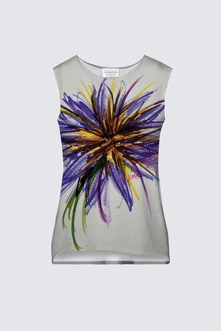 Purple Flower Women's Tank