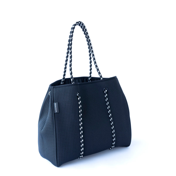 The Brighton Bag (Black) Neoprene Tote Bag