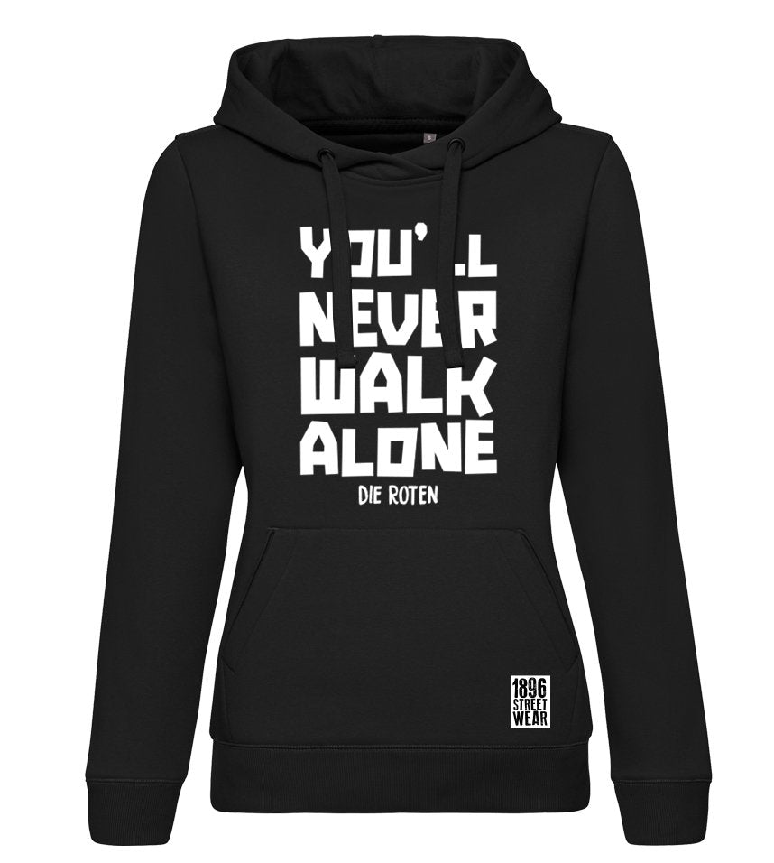Mädels Hoodie YOU#LL NEVER WALK ALONE - Hoodies - 1896 STREETWEAR