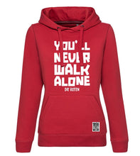 Lade das Bild in den Galerie-Viewer, Mädels Hoodie YOU#LL NEVER WALK ALONE - Hoodies - 1896 STREETWEAR