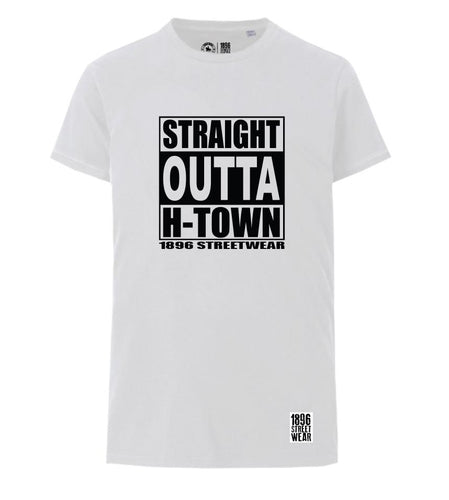 Kerle T-Shirt STRAIGHT OUTTA H-TOWN - T-Shirts - 1896 STREETWEAR
