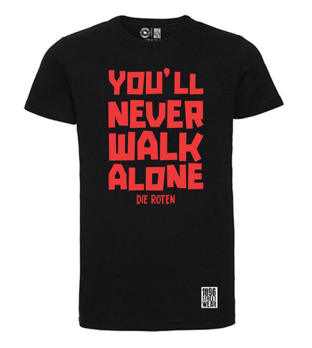Kerle T-Shirt YOU'LL NEVER WALK ALONE - T-Shirts - 1896 STREETWEAR