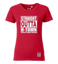 Lade das Bild in den Galerie-Viewer, Mädels T-Shirt STRAIGHT OUTTA H-TOWN - T-Shirts - 1896 STREETWEAR