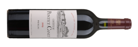 Bordeaux Wine Chateau Pontet-Canet 2009
