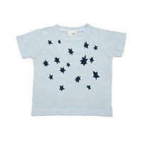 Infant gift combo- Small moon pillow and short sleeve star infant tee