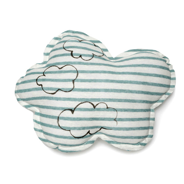 Cloud shaped pillow- Cloud print