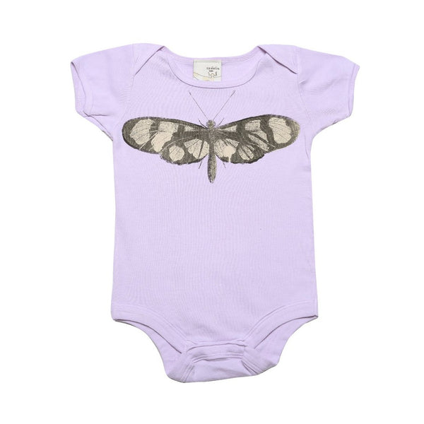 Organic Infant one piece- Butterfly print