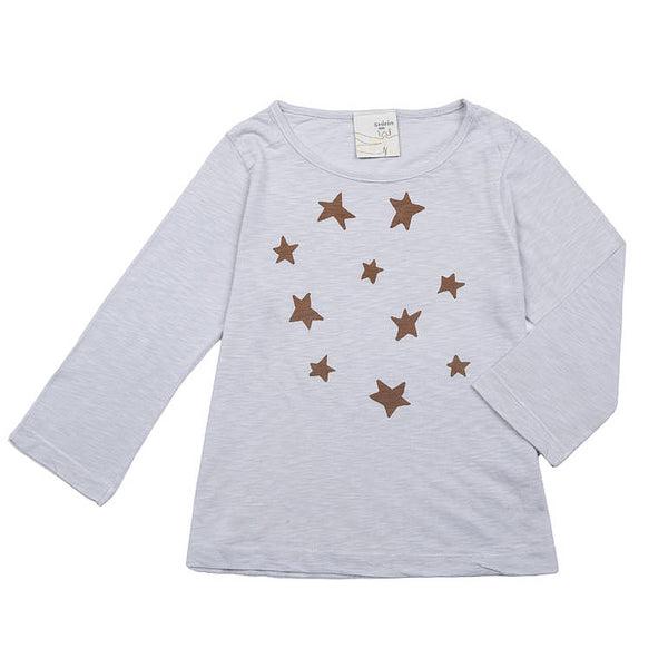 Long sleeve tee- Stars print
