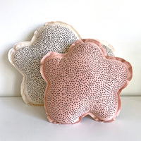 Cloud shaped pillow small- Speckled print