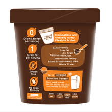 Load image into Gallery viewer, Ultra-Premium Lite Ice Cream - Double Chocolate