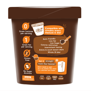 Ultra-Premium Lite Ice Cream - Double Chocolate