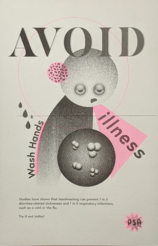 Avoid Illness PSA Poster