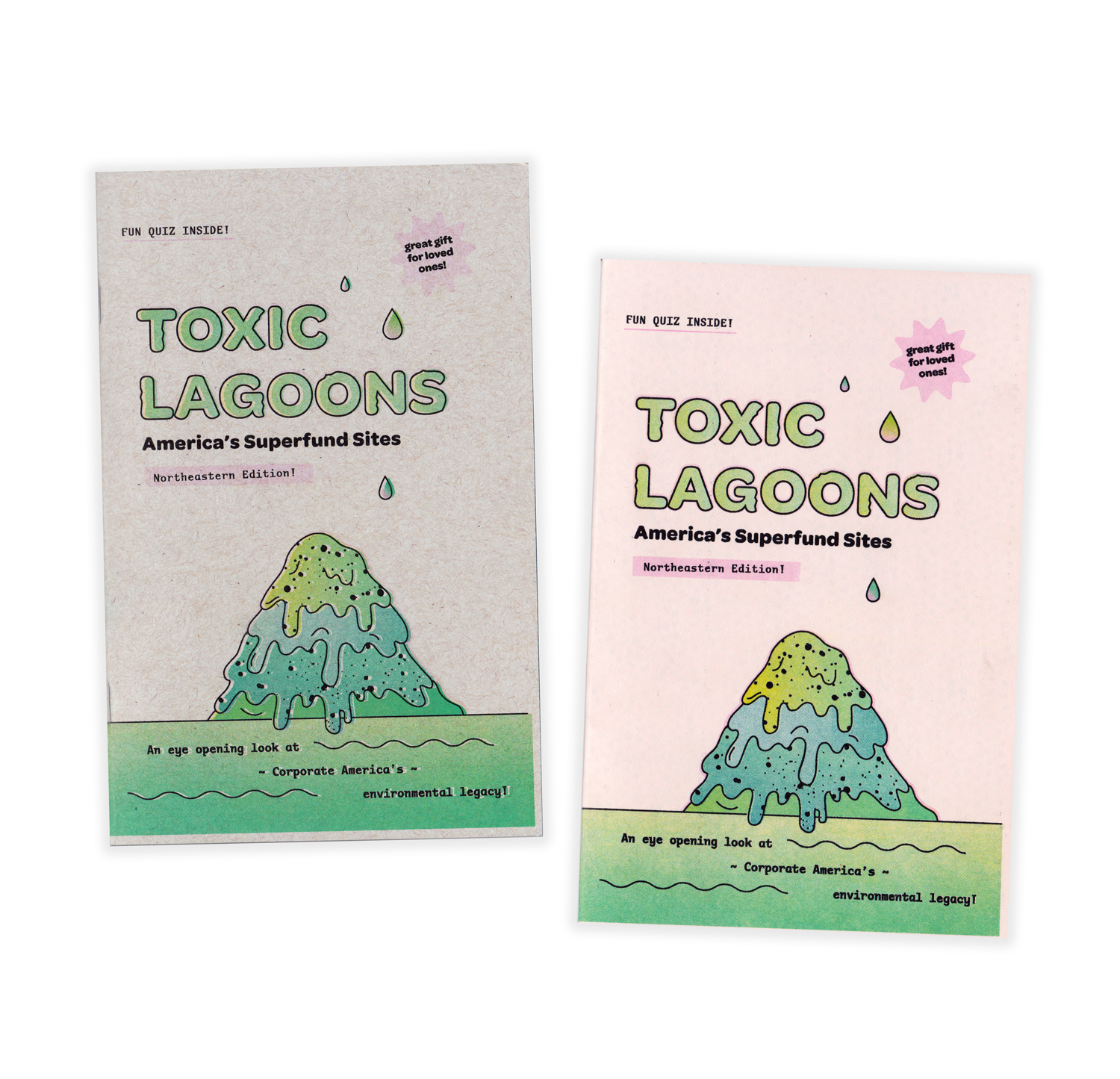 Toxic Lagoon Superfund Zine - Northeastern Edition!