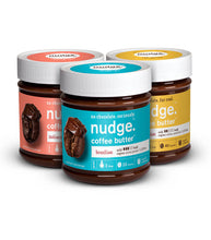 Load image into Gallery viewer, Nudge.™ Coffee Butter.™ Variety Pack