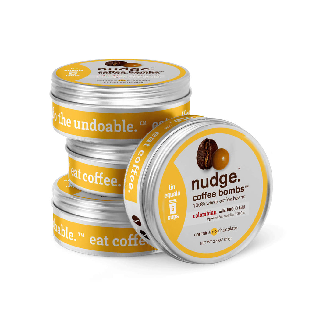 colombian coffee bombs™ tins