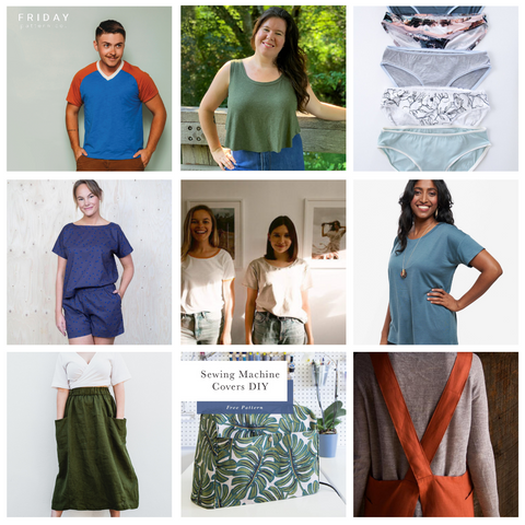 Pictures of free sewing patterns