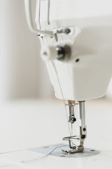 Sewing machine upclose