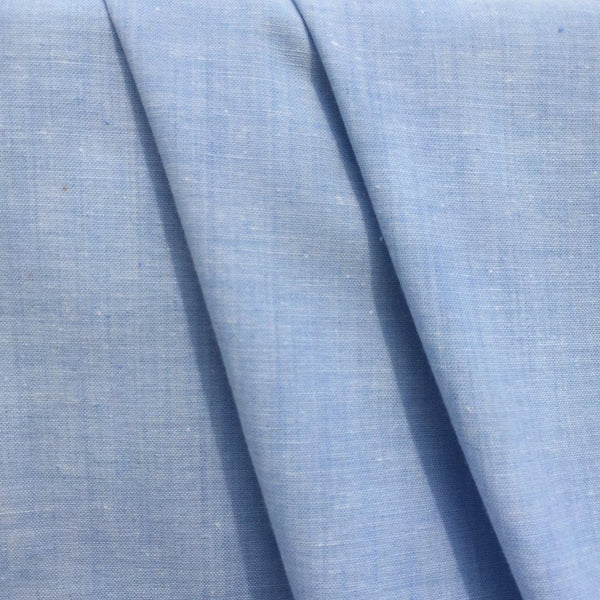 Chambray - Ligth Blue - 1/2 meter-Fabrics-Sew Not Complicated Atelier de Couture