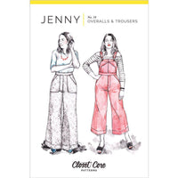 Closet Core Patterns - Jenny Overalls & Trousers-Patterns-Sew Not Complicated Atelier de Couture