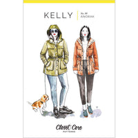 Closet Core Patterns - Kelly Anorak Jacket-Patterns-Sew Not Complicated Atelier de Couture