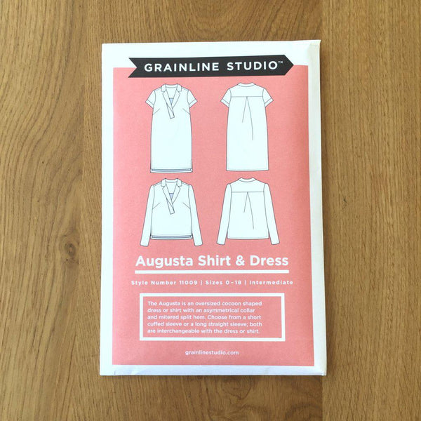 Grainline Studio - Augusta Shirt & Dress-Patterns-Sew Not Complicated Atelier de Couture
