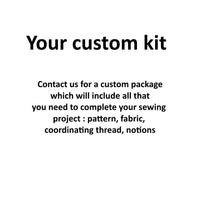Kit - Custom-Kits-Sew Not Complicated Atelier de Couture