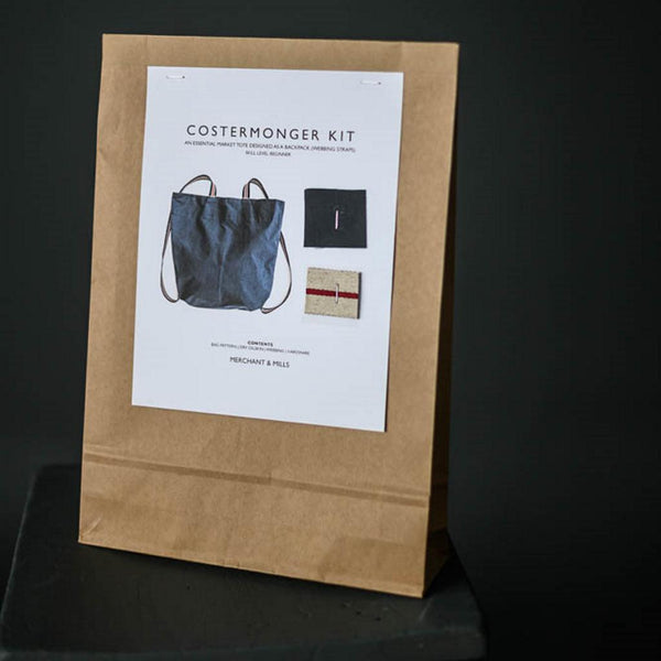 Merchant & Mills - Costermonger Bag Complete Kit-Kits-Sew Not Complicated Atelier de Couture