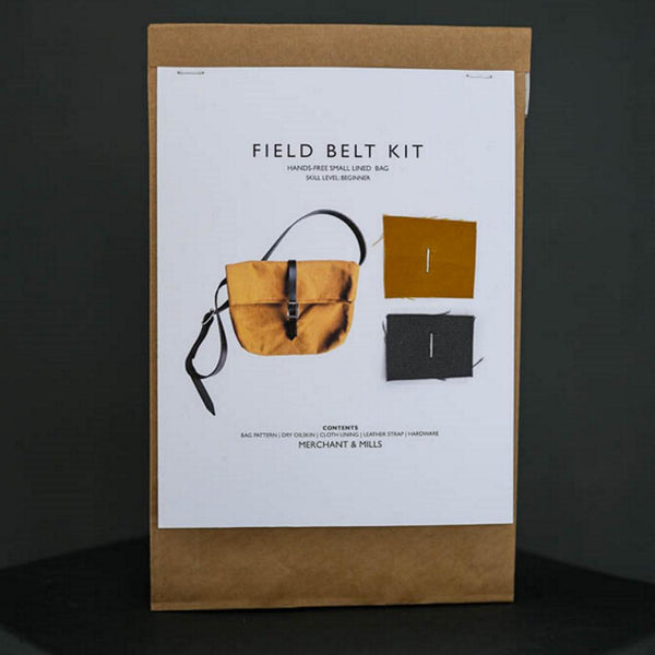 Merchant & Mills - Field Belt Complete Kit Cumin-Kits-Sew Not Complicated Atelier de Couture