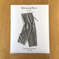 Merchant & Mills - The 101 Trouser-Patterns-Sew Not Complicated Atelier de Couture
