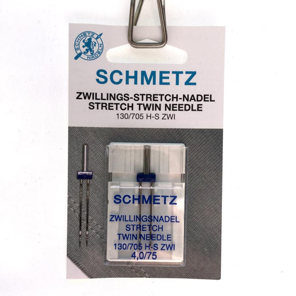 Schmetz Twin Needle - 4mm-Notions-Sew Not Complicated Atelier de Couture